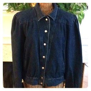 Vintage 80's Sergio Valente Denim Jacket